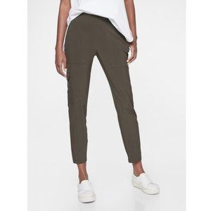 NEW Athleta $89 Chelsea Cargo Pant  Olive  4 tall